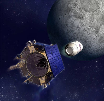 LRO (Lunar Reconnaissance Orbiter) Lcross