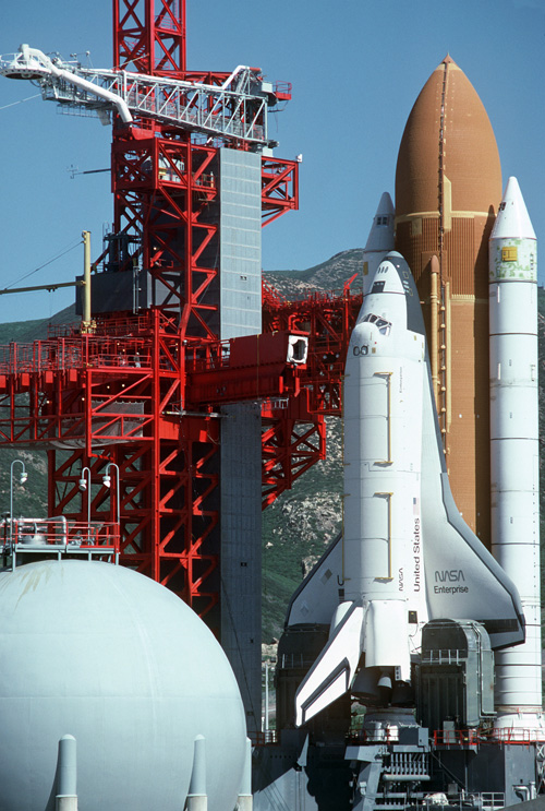 Spaceflight Now Delta Launch Report A space shuttle