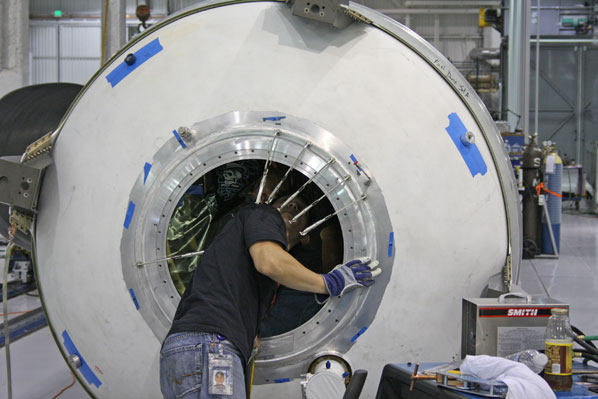 inside spacex factory - photo #21