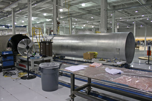 inside spacex factory - photo #19