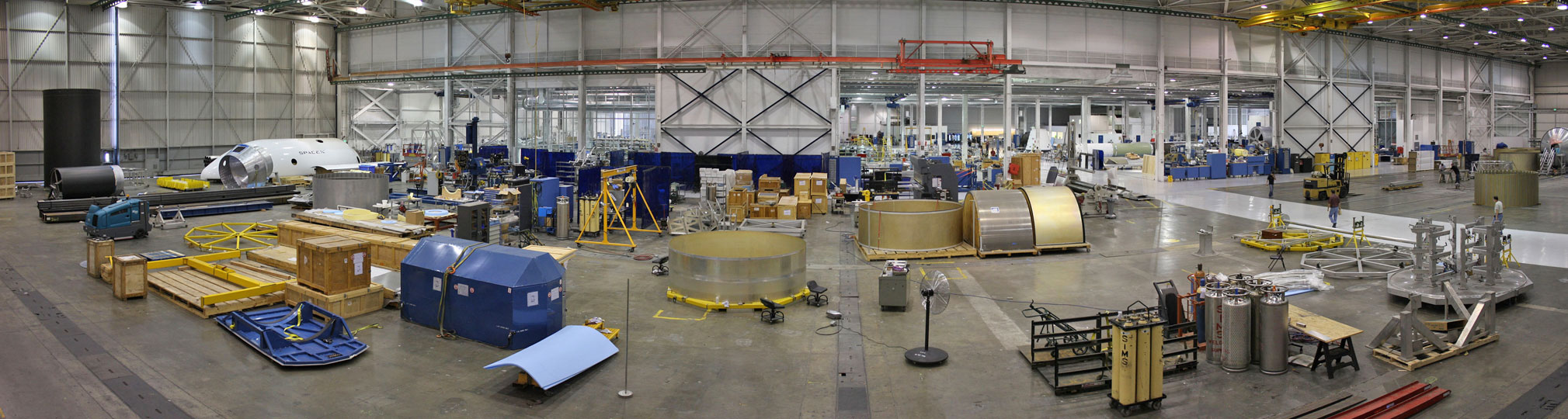 inside spacex factory - photo #16