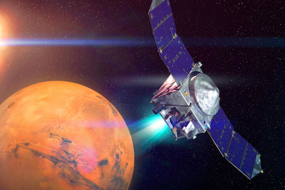 Spaceflight Now | MAVEN Mission Report | NASA's MAVEN ...