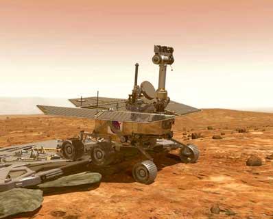 Mars Lander Airbags