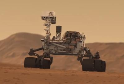 nuclear powered curiosity rover - photo #3