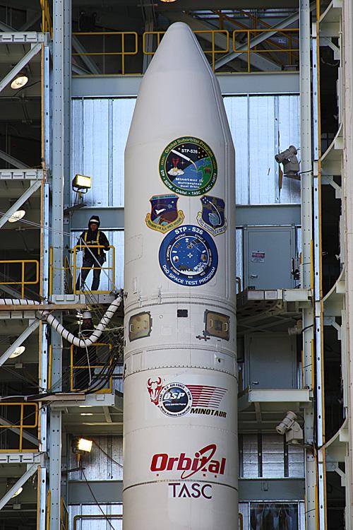 Lancement Minotaur 4 / FastSat (et autres) depuis Kodiak (20.11.2010) 03