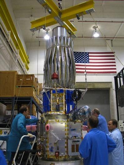 Launch news minotaur from kodiak on september 27th 2011 orbiter