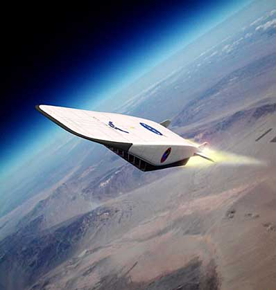 NASA Hypersonic Plane - Pics about space
