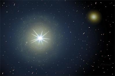 Spaceflight Now Breaking News Cosmic Powerhouses Dwell