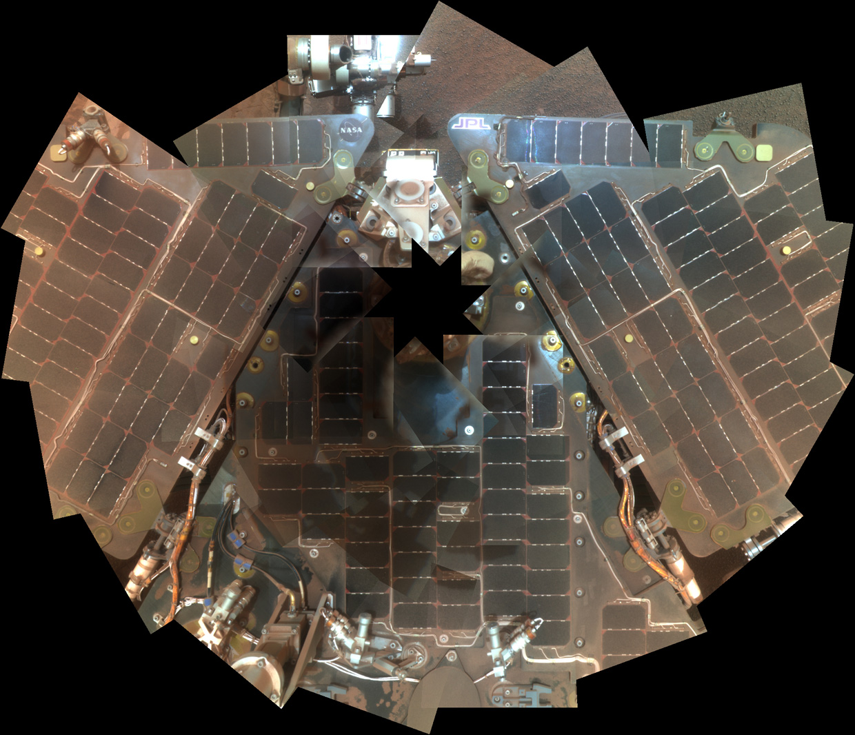 Spaceflight Now | Breaking News | Opportunity self ...