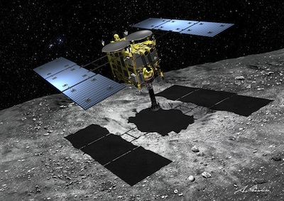 Hayabusa-2 spacecraft arrives at asteroid Ryugu Hayabusa