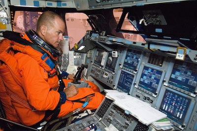 File Photo Of Astronaut Rick Sturckow During Training Before A Space Shuttle Flight Credit NASA And Michael Masucci Former US Air Force Test