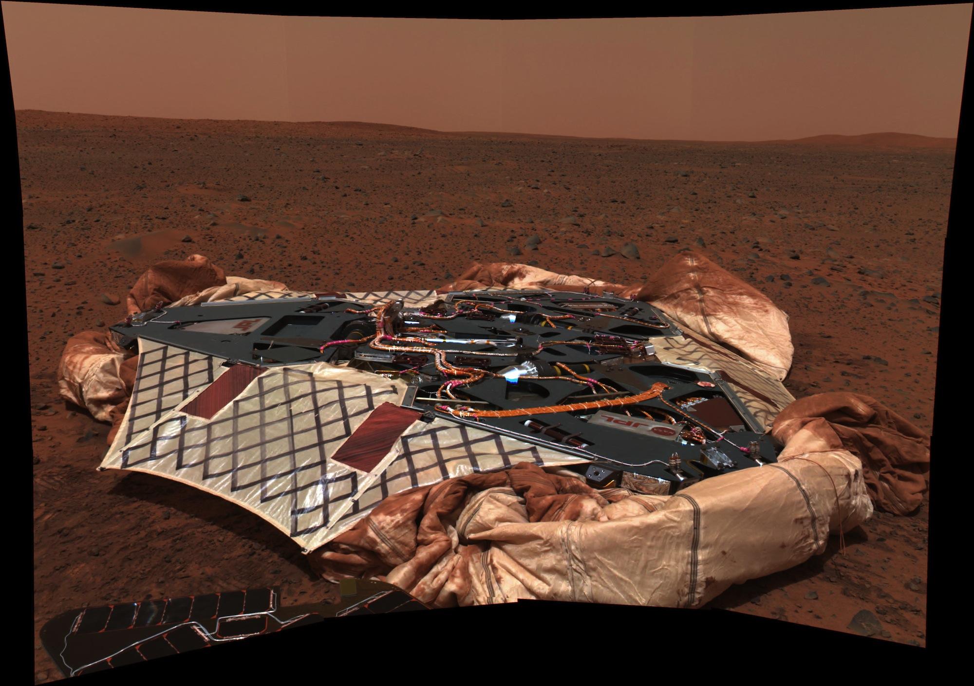 Spaceflight Now | Mars Exploration Rovers | Revered Spirit ...