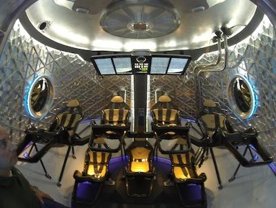dragon 2 spacecraft interior - photo #14
