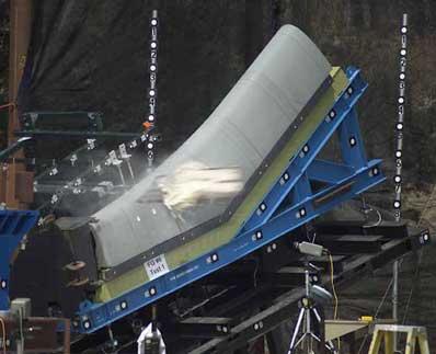 space shuttle columbia foam strike - photo #14