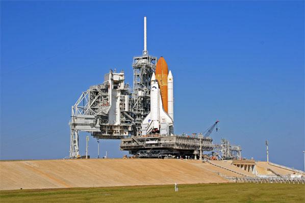 Spaceflight Now   STS-122 Shut...