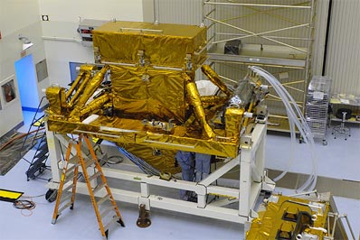 Hubble instrument cannister