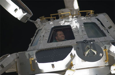 The new cupola on ISS