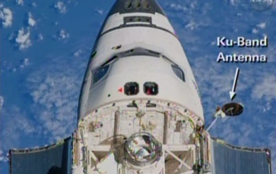 Spaceflight Now | STS-131 Shuttle Report | Discovery's Ku ...