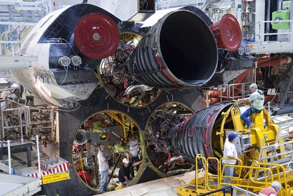 space shuttle main engine start - photo #12