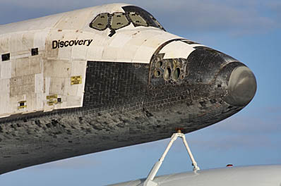space shuttle nose - photo #18