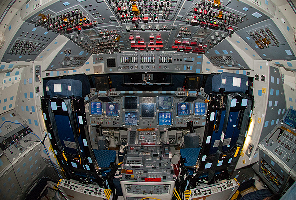 space shuttle discovery cockpit - photo #14