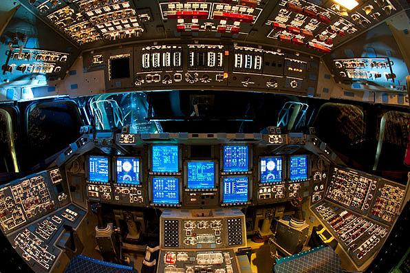 space shuttle enterprise cockpit - photo #19