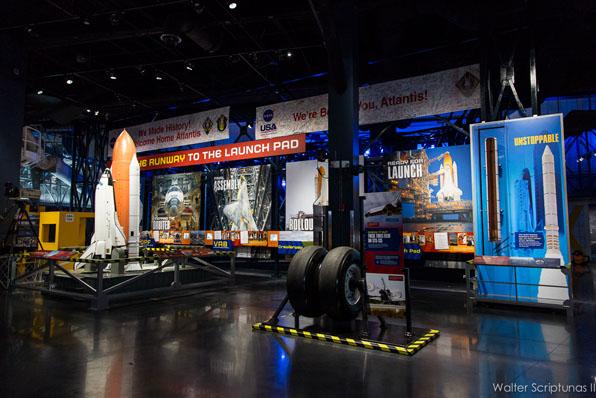 SPACE - Space Shuttle Atlantis al KSC Visitor Complex 36