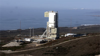 these launch pad views of the space launch complex 4 east were taken on the eve of titan s final liftoff credit gene blevins la daily news