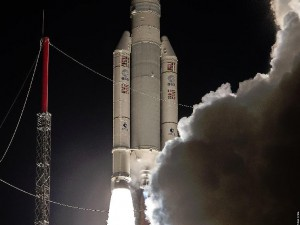 Photo credit: ESA/CNES/Arianespace - Optique Video du CSG