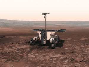 Artist's concept of the ExoMars rover set for launch in May 2018. Credit: ESA