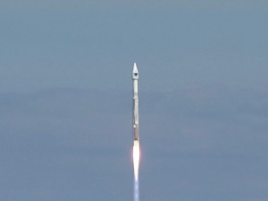 The Atlas 5 lifts off from Cape Canaveral on its 50th mission. Image: ULA.