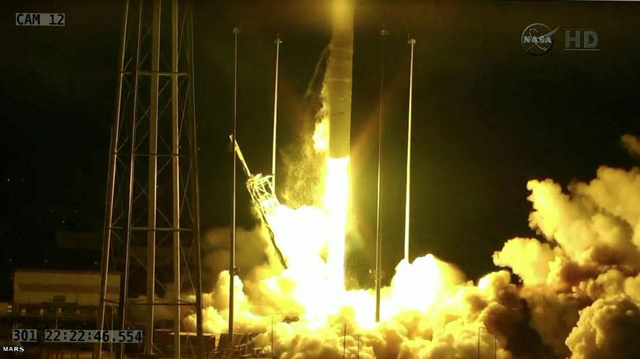 Antares explosie