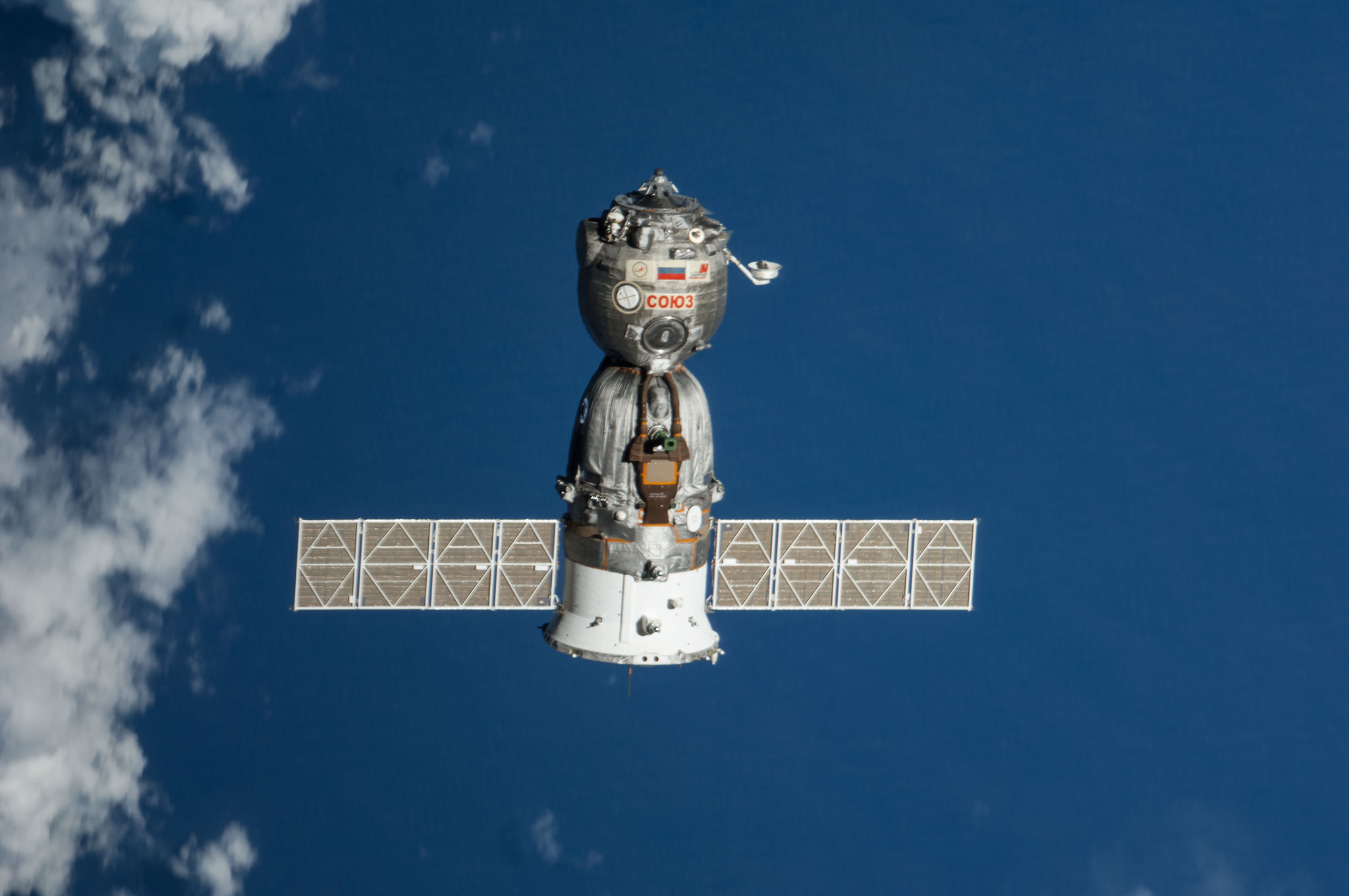 File photo of a Soyuz spacecraft seen from the International Space Station. Credit: NASA