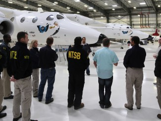 Virgin Galactic Space Ship Two Suffers Anomaly During Flight