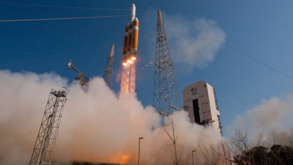 Launch of Delta IV Heavy NROL-15 Cape Canaveral AFS, June 29, 20