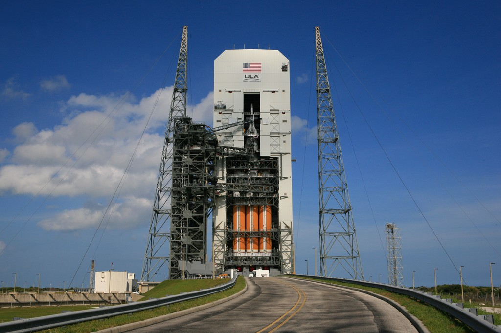 Launch will occur from Cape Canaveral's Complex 37 launch pad. Credit: ULA