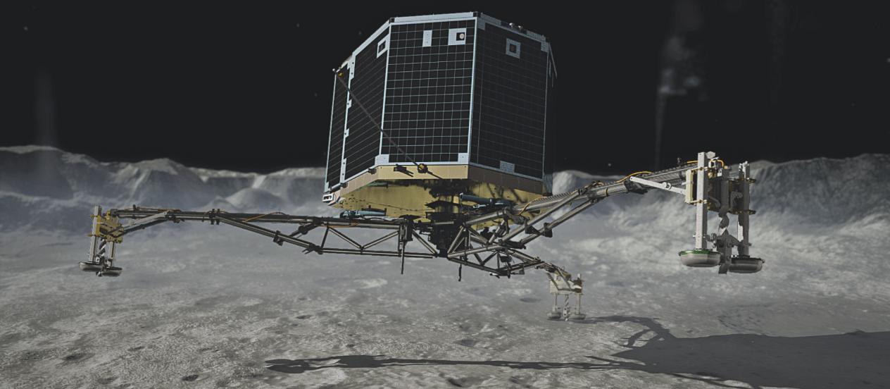Artist's concept of the Philae lander. Credit: DLR