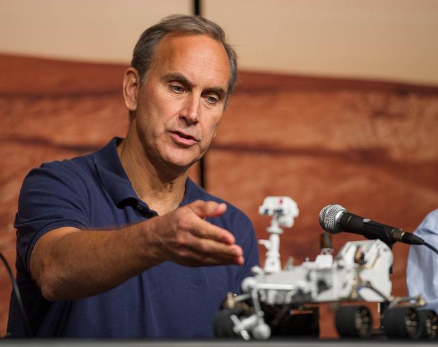 Curiosity project scientist John Grotzinger. Credit: NASA/Paul Alers