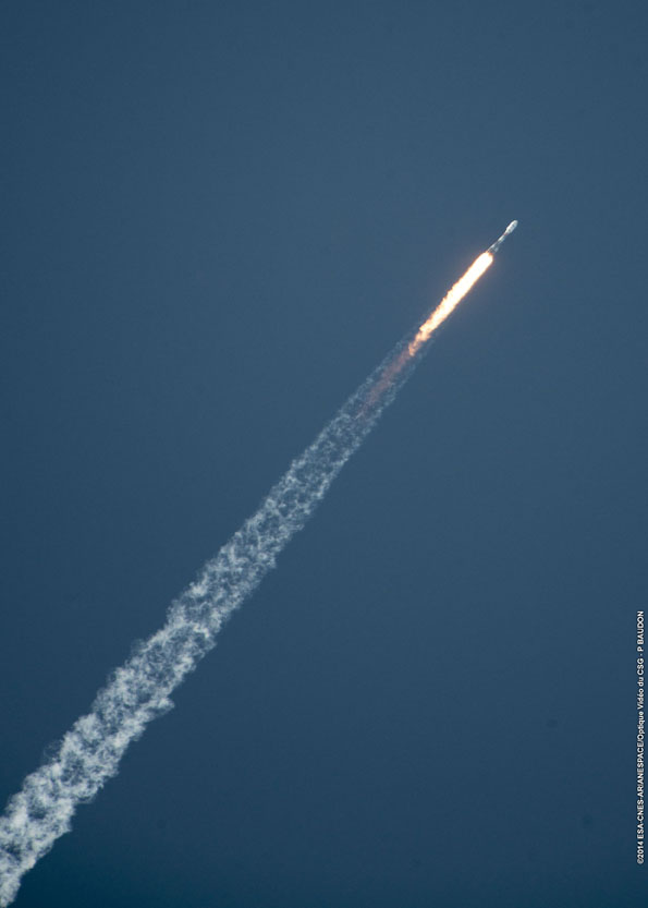 2014's launch tally highest in two decades – Spaceflight Now