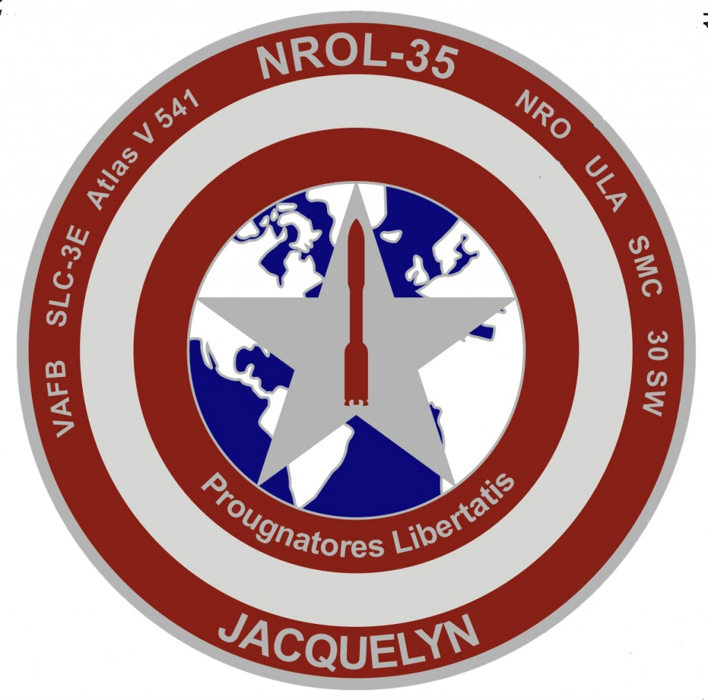 The 4th SLS crew patch. Credit: Air Force