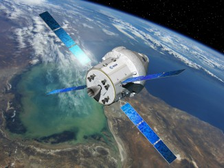 Artist's concept of an Orion spacecraft with a European-built service module. Credit: ESA