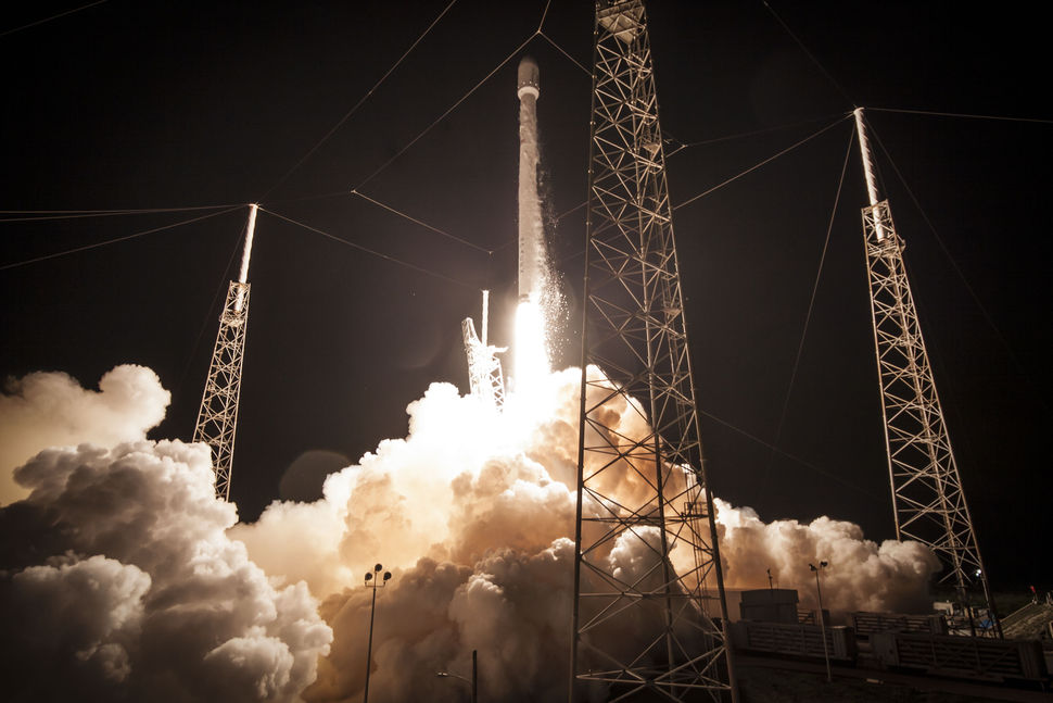 File photo of a Falcon 9 rocket launch from Cape Canaveral. Credit: SpaceX