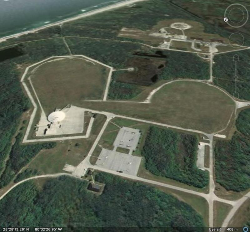 Space Launch Complex 36 was home to two launch pads for the Atlas-Centaur rocket program. Credit: Moon Express