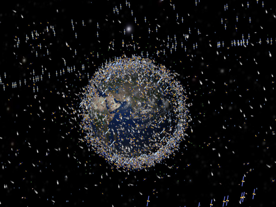 Did Two More Iridium Satellites Collide With Space Debris - Satellite from earth