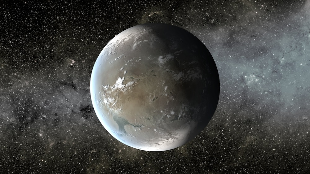 Artist's concept of an exoplanet discovered by Kepler. Credit: NASA