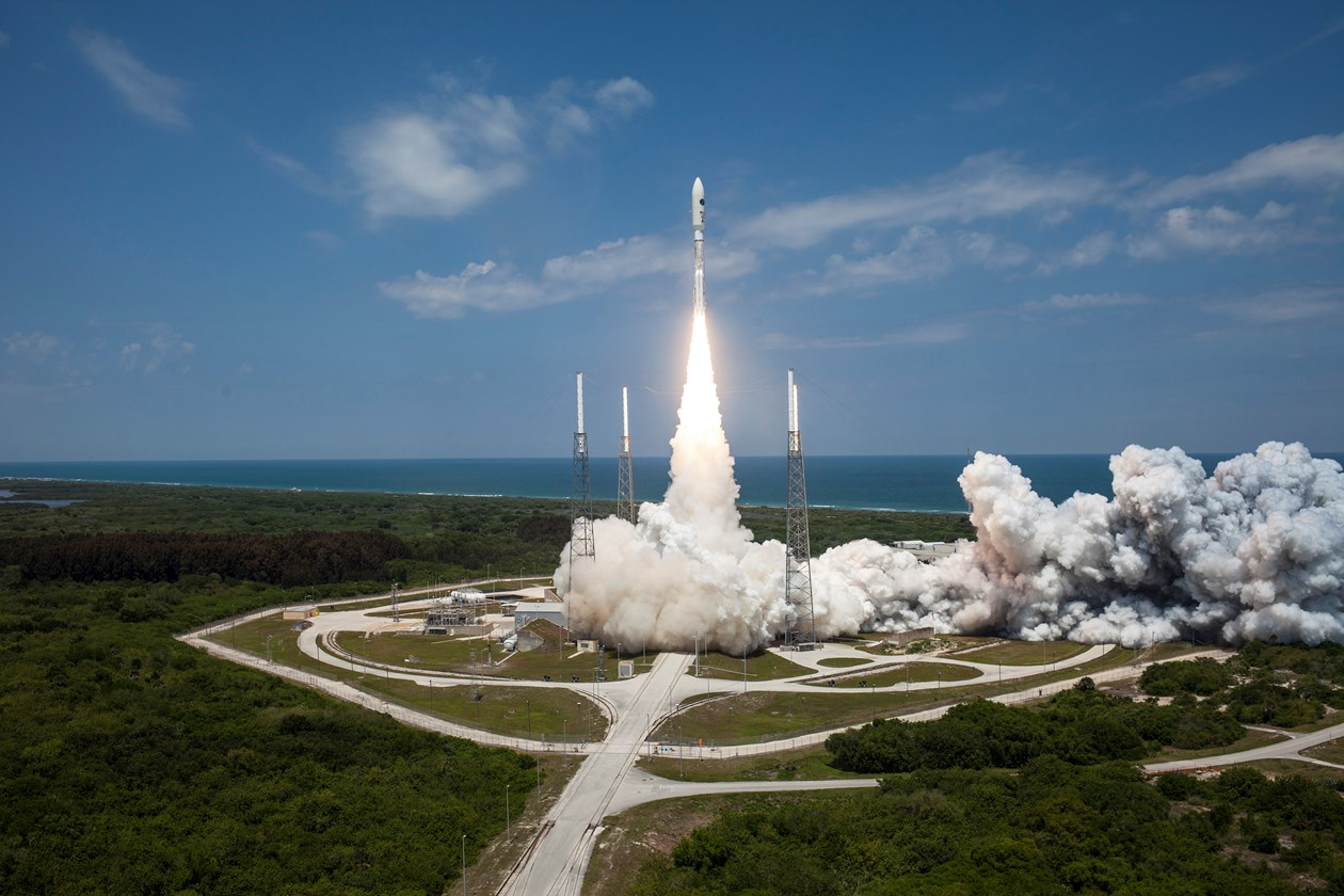 The United Launch Alliance Atlas 5 rocket flew nine times in 2014, more than any other U.S. launcher. Credit: ULA