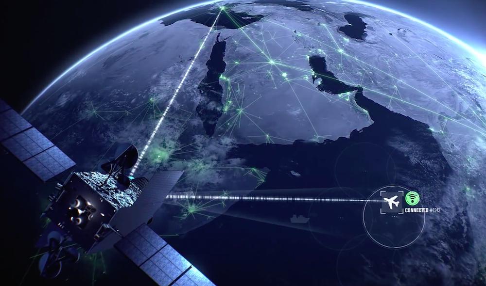 Artist's concept of a Global Xpress satellite. Credit: Inmarsat