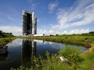 Rollout of Atlas V MUOS-2, Cape Canaveral AFS, Fl