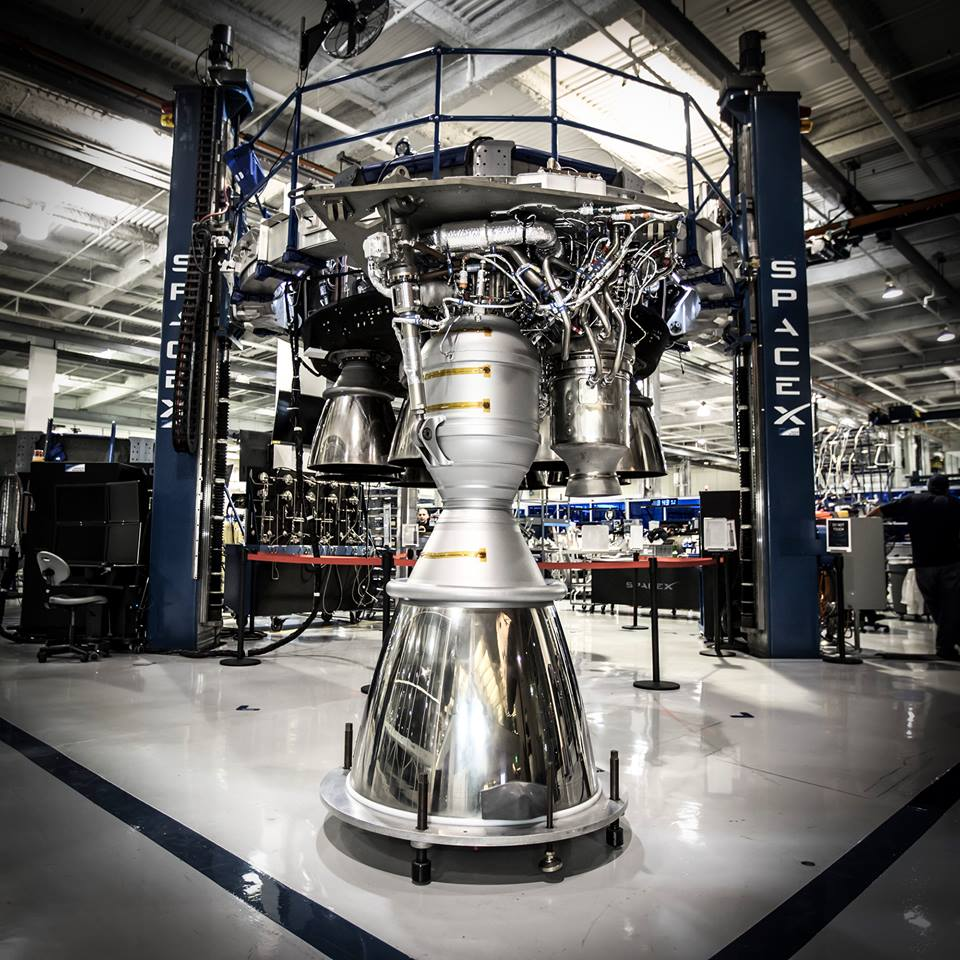 100th merlin 1d engine flies on falcon 9 rocket spaceflight now