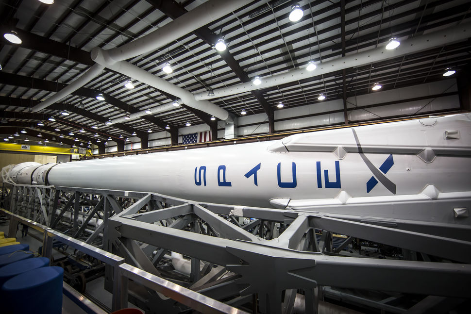 hangar 9 falcon spacex - photo #1